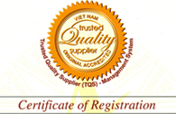 Certificate of furniture rattan material in Vietnam